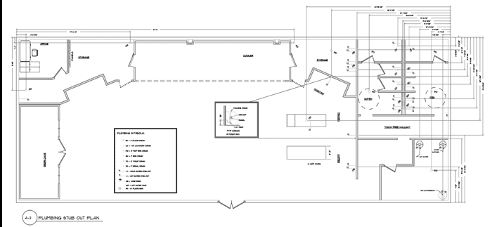 2. We Select and arrange the equipment package Layout the Interior Walls, Then We Specify and Locate the Plumbing.