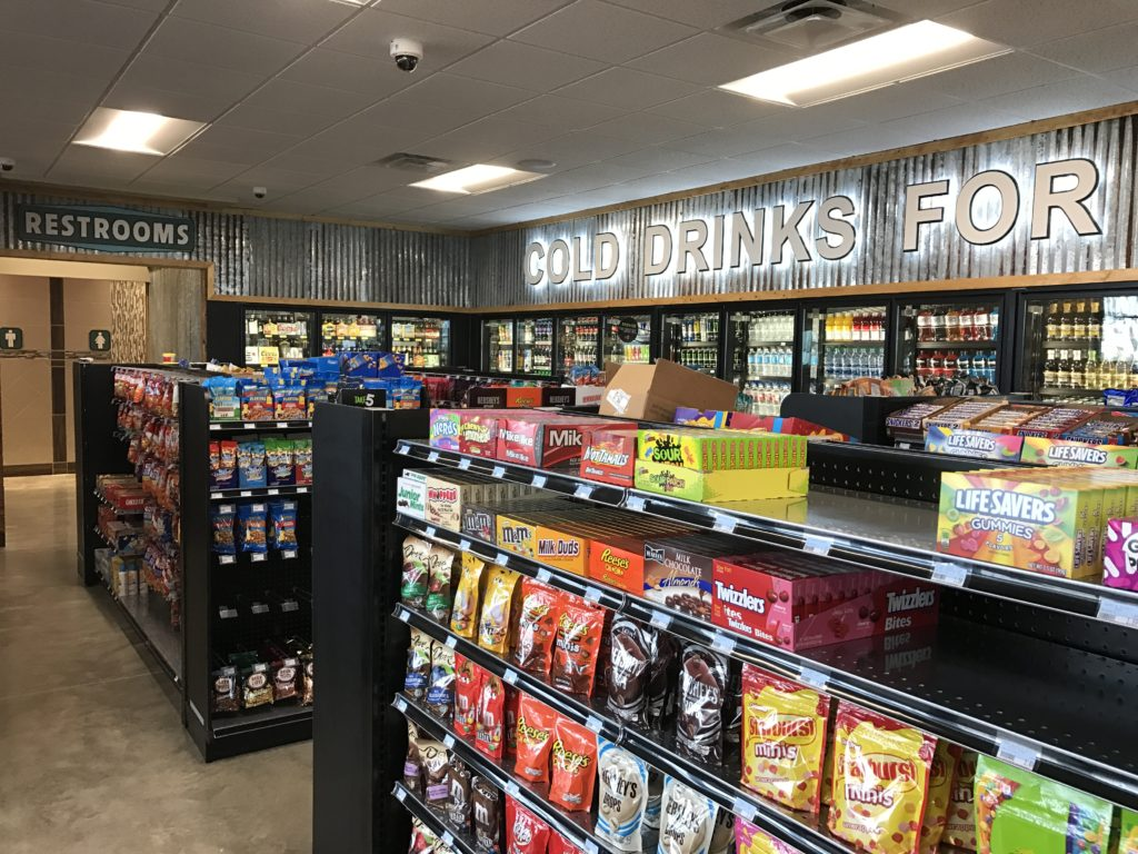 Convenience Store Design and Construction Step 13